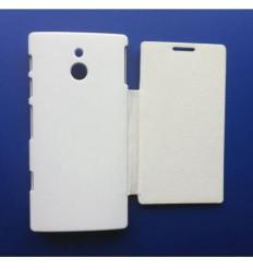 Sony Xperia P LT22I white Flip Cover