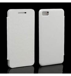 Blackberry Z10 Flip Cover Blanca