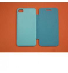 Blackberry Z10 Flip Cover azul celeste