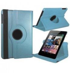 "Asus Google Nexus 7"" Funda Giratoria 360º Azul Celeste"