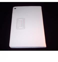 Funda de piel para Tablet Xperia Z color blanco