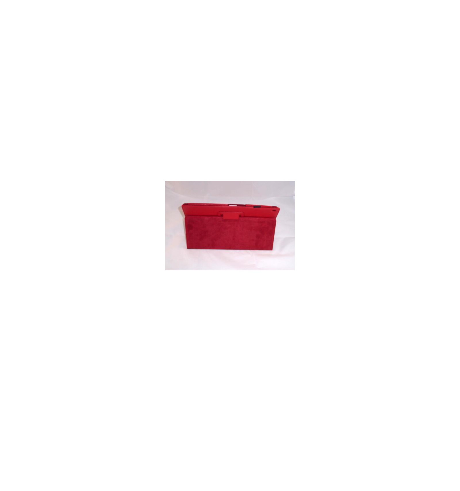 Funda de piel para tablet xperia z color rojo - Funda xperia z tablet ...