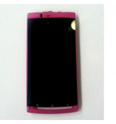 Sony Ericsson XP ARC ARC S W original pink lcd+touch screen+