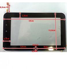 """Pantalla táctil repuesto tablet china 7"""" modelo 2"""
