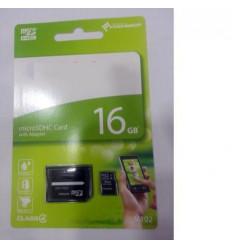 Micro SD 16GB Class 4 Toshiba + 0,24 euros de canon incluido en cada unidad