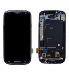 Samsung Galaxy i9300 táctil+lcd+marco negro original