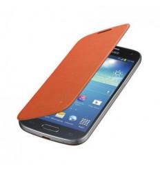 Samsung Galaxy SIV Mini I9190 i9195 Flip cover naranja