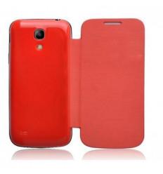 Samsung Galaxy SIV Mini I9190 i9195 Flip cover roja