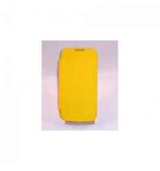 Samsung Galaxy SIV Mini I9190 i9195 Flip cover amarilla