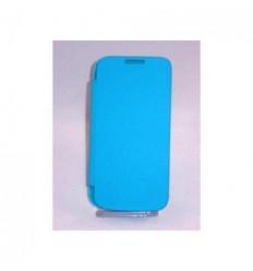 Samsung Galaxy SIV Mini I9190 i9195 Flip cover azul celeste