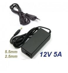 Cargador especifico 12V 5A 60W 5.5*2.5