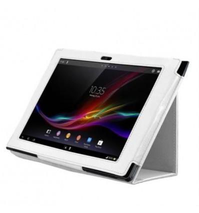 Funda tablet blanca sony xperia s 9 4 sgpt122mx s - Funda xperia z tablet ...