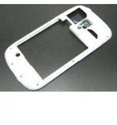 Samsung Galaxy S3 MINI I8190 Carcasa trasera blanca original