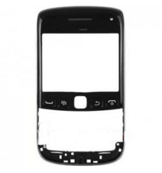 Blacberry 9790 Carcasa frontal negra + Cristal original