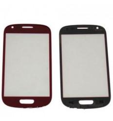 Samsung Galaxy S3 Mini I8190 red lens
