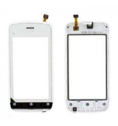 Nokia C5-03 C5-06 Táctil blanco + Marco