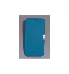 BQ Aquaris 4.5 Flip cover con iman carcasa Azul celeste