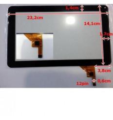 """Pantalla Táctil repuesto tablet china 9"""" Modelo 2"""