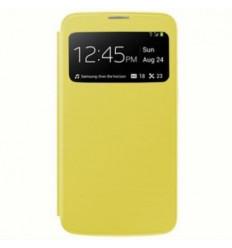 Funda inteligente S-View Cover amarillo Samsung Galaxy Mega