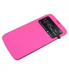 Funda inteligente S-View Cover Rosa Samsung Galaxy Mega 6.3