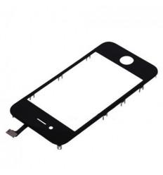 iPhone 4 Cristal + Digitalizador negro + Marco