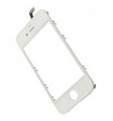 iPhone 4S Cristal + Digitalizador blanco + Marco