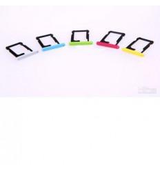 iPhone 5C Soporte sim amarillo original