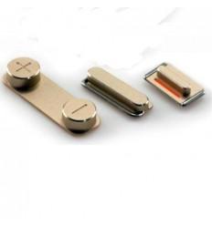 iPhone 5S Set 3 Piezas Botones gold original