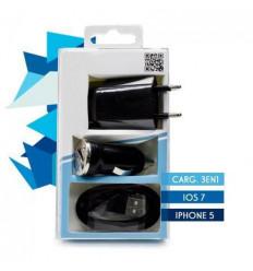 iPhone 5 Todo en 1 (COMP.IOS 7) black