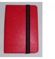 """Funda Tablet Univ. 6"""" Liso Rojo Velcro Restraint System"""
