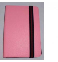 "Funda Tablet Univ. 6"" Liso Rosa claro Velcro Restraint Syste"