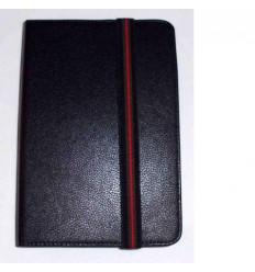 "Funda Tablet Univ. 6"" Liso Negro Velcro Restraint System"