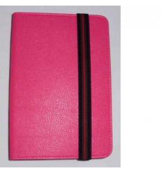 "Funda Tablet Univ. 6"" Liso rosa oscuro Velcro Restraint Syst"