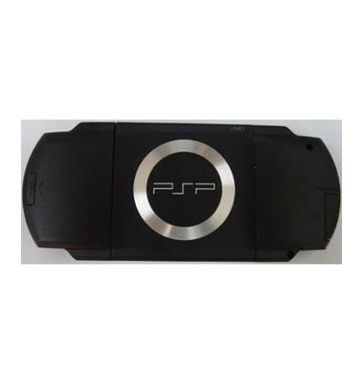 Black bottom case for PSP FAT
