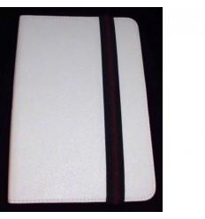 "Funda Tablet Univ. 7"" liso Blanco Velcro Restraint System"