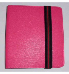 "Funda Tablet Univ. 10"" liso rosa oscuro Velcro Restraint Sys"