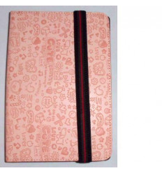 "Univ Tablet Case 9 "" design light pink Velcro Restraint Sys"
