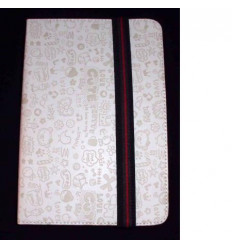 "Univ Tablet Case 9 "" design white Velcro Restraint System"