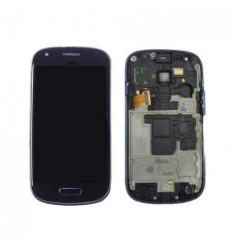 Samsung Galaxy I8190 S3 Mini gris pantalla lcd+táctil + marc
