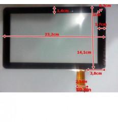 """Pantalla táctil repuesto Tablet China 9"""" Modelo 5"""
