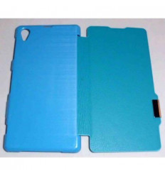 Sony Xperia Z1 L39H Flip Cover con iman Azul celeste