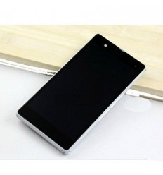Sony Xperia Z L36H C6602 C6603 Lcd+Táctil+ Marco blanco orig