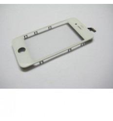 iPhone 4 Cristal + Digitalizador Blanco + Marco