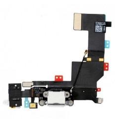 iPhone 5S Flex conector de carga y accesorios blanco origina