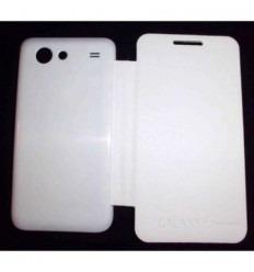 Samsung Galaxy S Advance I9070 FLIP Cover Blanco
