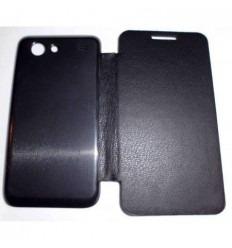 Samsung Galaxy S Advance I9070 FLIP Cover Negro