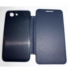 Samsung Galaxy S Advance I9070 FLIP Cover Azul Marino