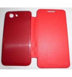 Samsung Galaxy S Advance I9070 FLIP Cover Rojo
