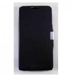 BQ Aquaris 5.7 Flip Cover con iman carcasa azul marino