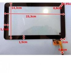 """Pantalla Táctil repuesto tablet china 9"""" Modelo 3"""